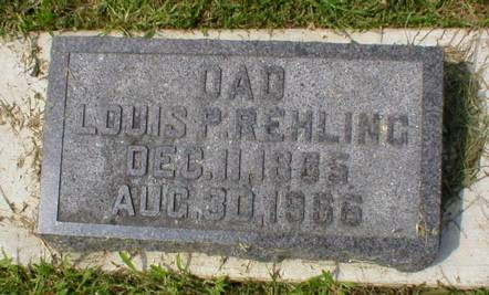 REHLING, LOUIS P. - Scott County, Iowa | LOUIS P. REHLING