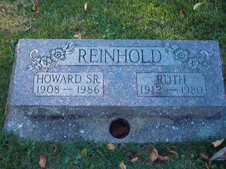 SKEELS REINHOLD, RUTH - Scott County, Iowa | RUTH SKEELS REINHOLD