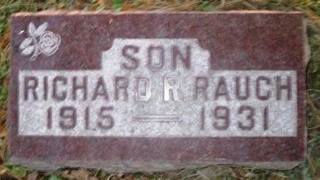 RAUCH, RICHARD R. - Scott County, Iowa | RICHARD R. RAUCH