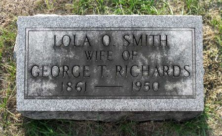 SMITH RICHARDS, LOLA O. - Scott County, Iowa | LOLA O. SMITH RICHARDS