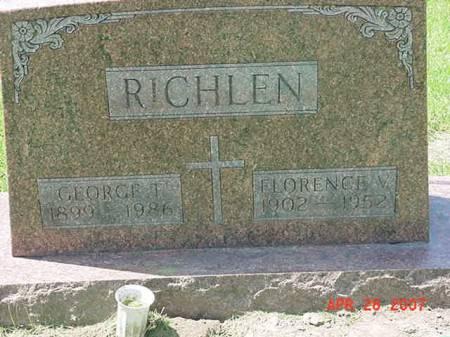 RICHLEN, FLORENCE V - Scott County, Iowa | FLORENCE V RICHLEN