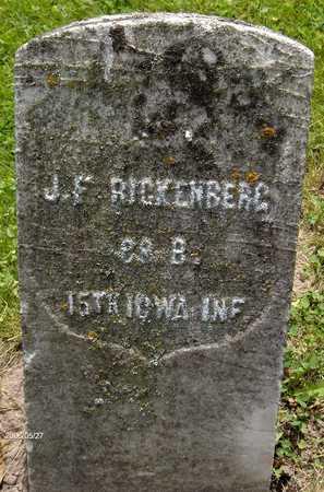 RICKENBERG, SGT. J.F. - Scott County, Iowa | SGT. J.F. RICKENBERG