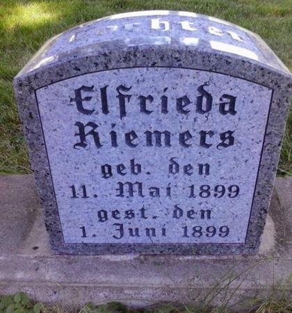 RIEMERS, ELFRIEDA - Scott County, Iowa | ELFRIEDA RIEMERS