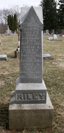RILEY, BERNARD - Scott County, Iowa | BERNARD RILEY