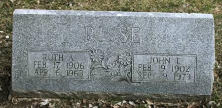 RISSE, JOHN T. - Scott County, Iowa | JOHN T. RISSE