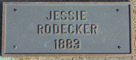 RODECKER, JESSIE - Scott County, Iowa   JESSIE RODECKER
