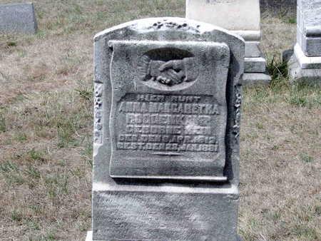 HEIN ROGGENKAMP, ANNA - Scott County, Iowa | ANNA HEIN ROGGENKAMP