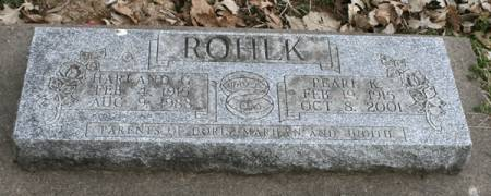 KARSTENS ROHLK, PEARL K. - Scott County, Iowa | PEARL K. KARSTENS ROHLK