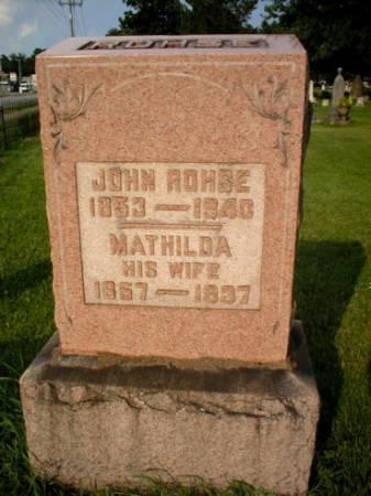ROHSE, JOHN - Scott County, Iowa | JOHN ROHSE