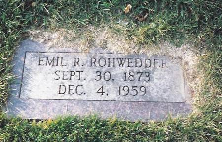 ROHWEDDER, EMIL ROBERT - Scott County, Iowa | EMIL ROBERT ROHWEDDER