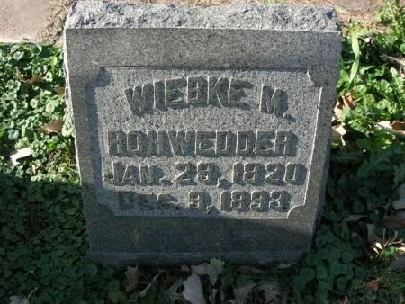 ROHWEDDER, WIEBKE M. - Scott County, Iowa | WIEBKE M. ROHWEDDER