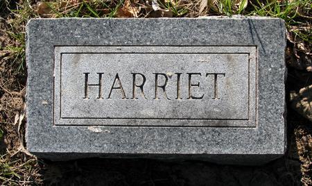 ROLLER, HARRIET - Scott County, Iowa | HARRIET ROLLER