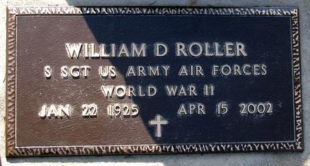 ROLLER, WILLIAM DEAN - Scott County, Iowa | WILLIAM DEAN ROLLER