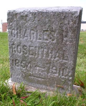 ROSENTHAL, CHARLES H. - Scott County, Iowa | CHARLES H. ROSENTHAL