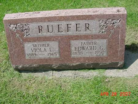 RUEFER, VIOLA L - Scott County, Iowa | VIOLA L RUEFER