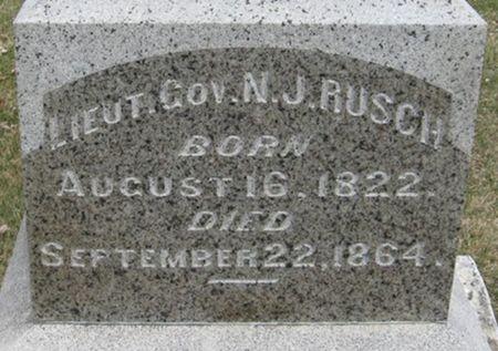 RUSCH, NICHOLAS J. - Scott County, Iowa | NICHOLAS J. RUSCH