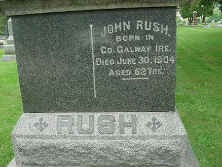 RUSH, JOHN - Scott County, Iowa | JOHN RUSH