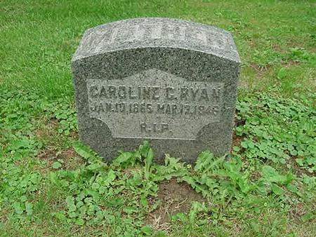 RYAN, CAROLINE C - Scott County, Iowa | CAROLINE C RYAN