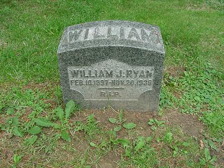 RYAN, WILLIAM J - Scott County, Iowa | WILLIAM J RYAN