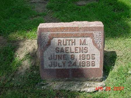 SAELENS, RUTH M - Scott County, Iowa | RUTH M SAELENS