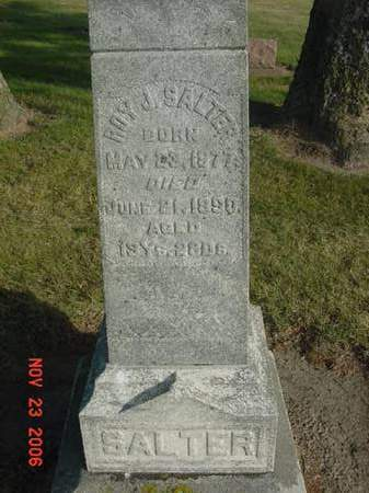 SALTER, ROY J - Scott County, Iowa | ROY J SALTER