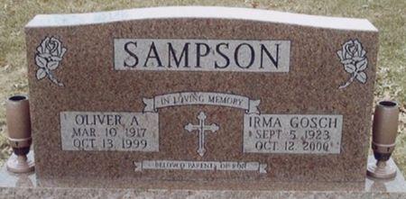 SAMPSON, OLIVER A. - Scott County, Iowa | OLIVER A. SAMPSON