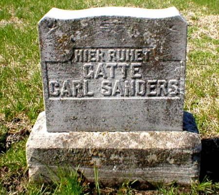 SANDERS, CARL - Scott County, Iowa | CARL SANDERS