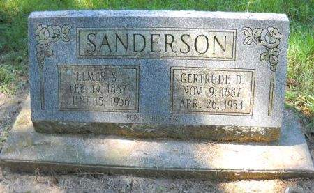 SANDERSON, GERTRUDE  D. - Scott County, Iowa | GERTRUDE  D. SANDERSON