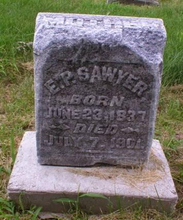 SAWYER, E.P. - Scott County, Iowa | E.P. SAWYER