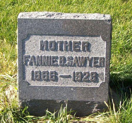 CHENEY SAWYER, FANNIE B. - Scott County, Iowa | FANNIE B. CHENEY SAWYER
