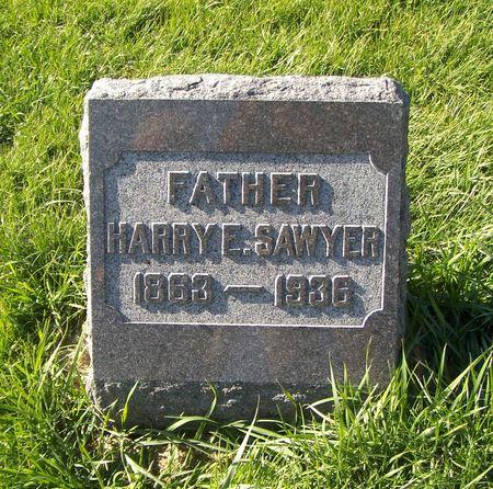 SAWYER, HARRY E. - Scott County, Iowa   HARRY E. SAWYER