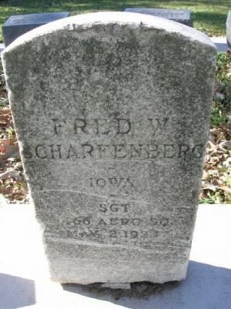 SCHARFENBERG, FRED W. - Scott County, Iowa | FRED W. SCHARFENBERG