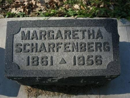 SCHARFENBERG, MARGARETHA - Scott County, Iowa   MARGARETHA SCHARFENBERG