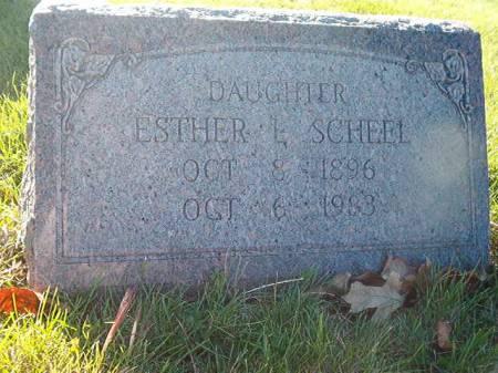 SCHEEL, ESTHER - Scott County, Iowa | ESTHER SCHEEL