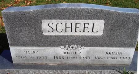 SCHEEL, DORTHEA - Scott County, Iowa | DORTHEA SCHEEL