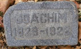 SCHEHR, JOACHIM - Scott County, Iowa | JOACHIM SCHEHR