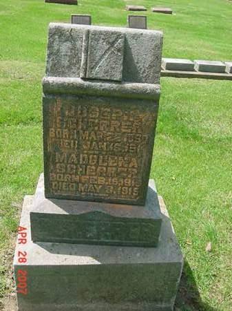 SCHERRER, JOSEPH - Scott County, Iowa | JOSEPH SCHERRER