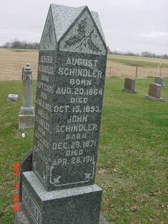 SCHINDLER, AUGUST - Scott County, Iowa | AUGUST SCHINDLER