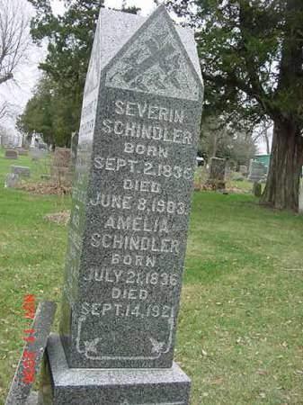 SCHINDLER, SEVERIN - Scott County, Iowa | SEVERIN SCHINDLER