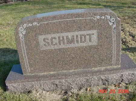SCHMIDT, FAMILY - Scott County, Iowa | FAMILY SCHMIDT