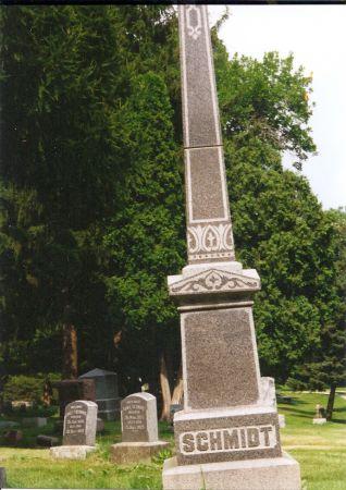 SCHMIDT, (FAMILY MARKER) - Scott County, Iowa   (FAMILY MARKER) SCHMIDT
