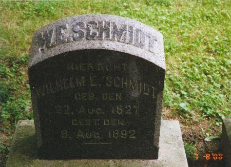 SCHMIDT, WILHELM EMIL - Scott County, Iowa | WILHELM EMIL SCHMIDT