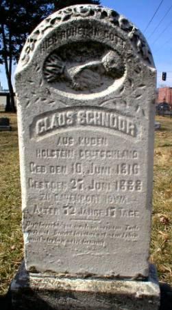 SCHNOOR, CLAUS - Scott County, Iowa | CLAUS SCHNOOR