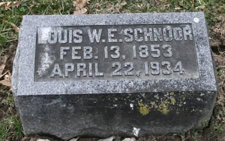 SCHNOOR, LOUIS W.E. - Scott County, Iowa | LOUIS W.E. SCHNOOR