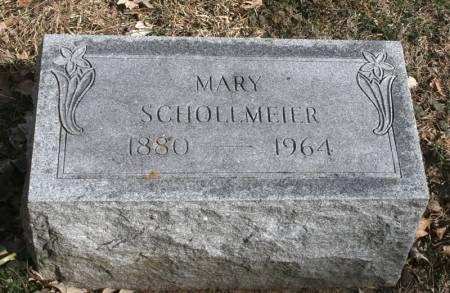 SCHOLLMEIER, MARY - Scott County, Iowa   MARY SCHOLLMEIER