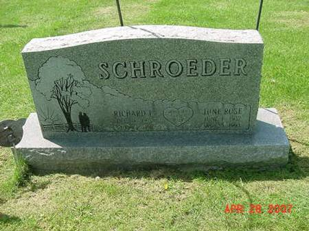 SCHROEDER, RICHARD L - Scott County, Iowa | RICHARD L SCHROEDER