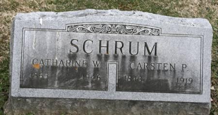 SCHRUM, CATHARINE W. - Scott County, Iowa | CATHARINE W. SCHRUM