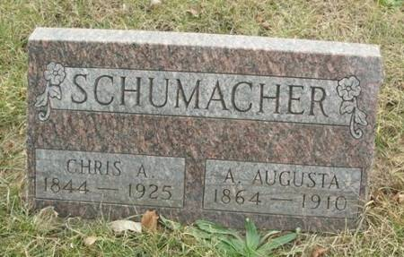 SCHUMACHER, A. AUGUSTA - Scott County, Iowa | A. AUGUSTA SCHUMACHER