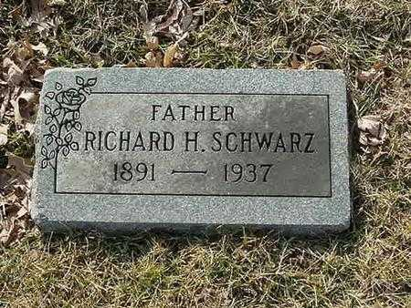 SCHWARZ, RICHARD H - Scott County, Iowa | RICHARD H SCHWARZ