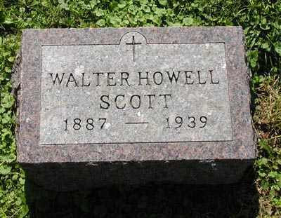 SCOTT, WALTER HOWELL - Scott County, Iowa | WALTER HOWELL SCOTT